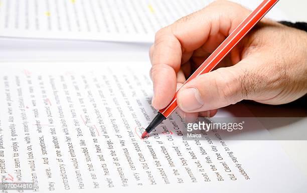 Texto de correcção, proofreader