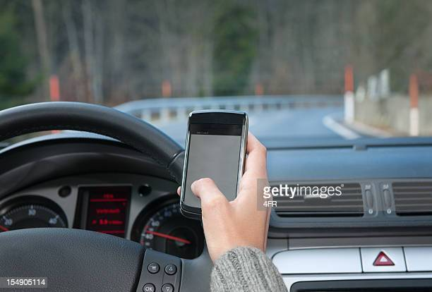Text Messaging while Driving (XXXL)