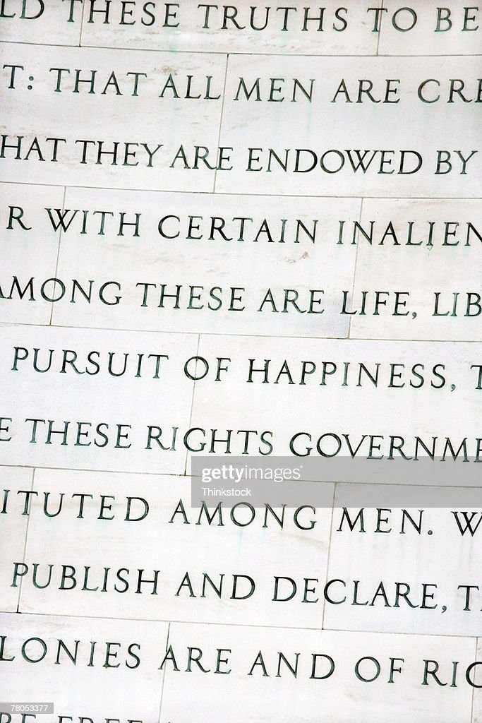 what is jefferson thesis in the declaration of independence