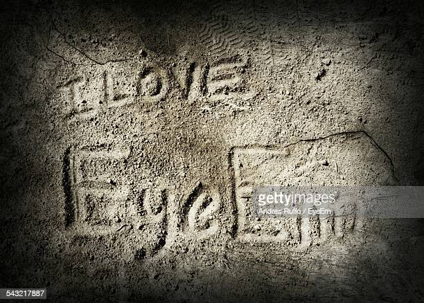 Text On Sand