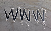 text www on a frosty car glass,image of a