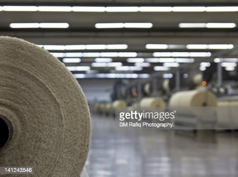 Textile industry : Stock Photo