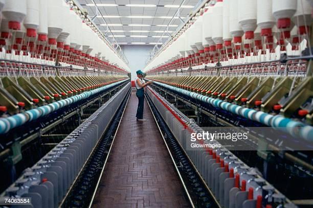 Textile manufacturing plant, Recife, Brazil