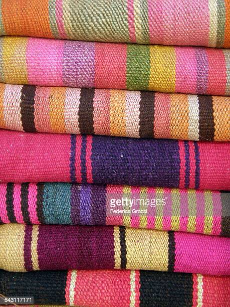 Textiles on sale in Northern Argentina