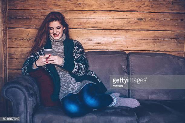 SMS mit einem Freund