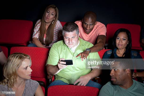 Texting at the Movies