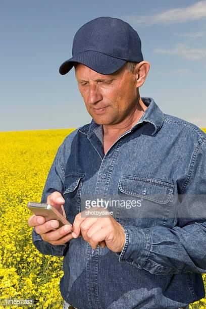 Texting Farmer
