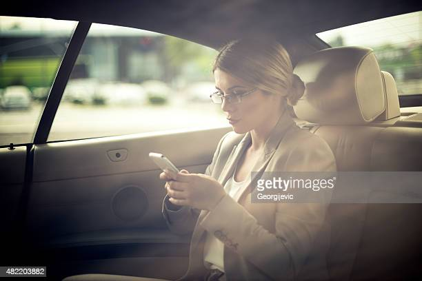 Texting in the car