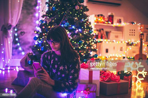 Texting on Christmas Eve