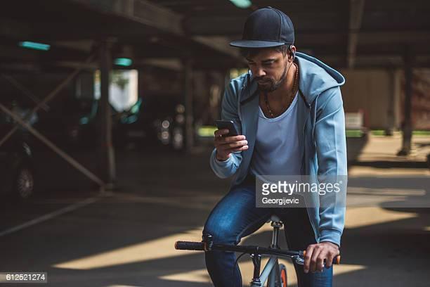 SMS en voiture