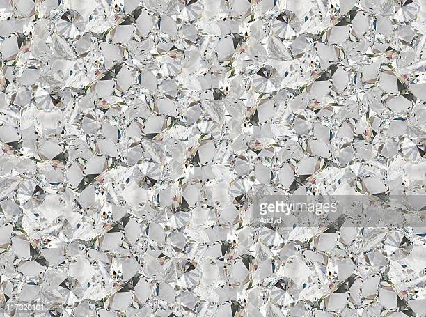 Texture background of a clear crystal diamond