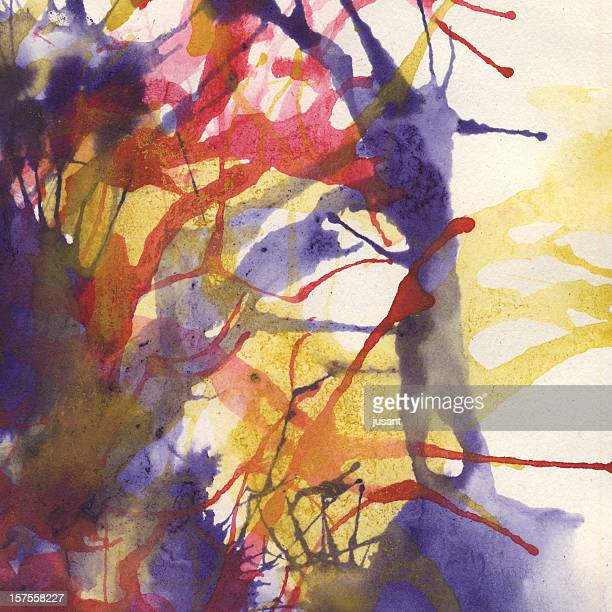 Texture background watercolor painting