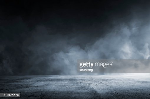 Texture dark concrete floor : Stock Photo