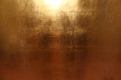 Texture of an gold metall plates, for text and background