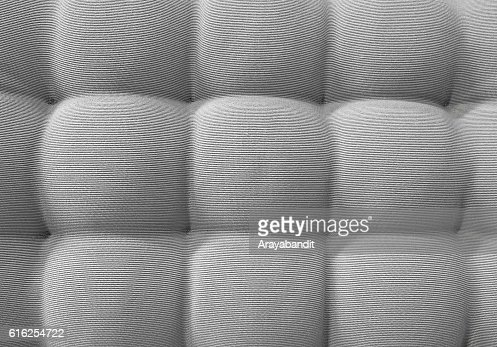 Texture of Brown Upholstery Fabric Textile Pattern Background : Stock Photo