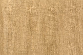 Texture of coarse linen fabric, sackcloth
