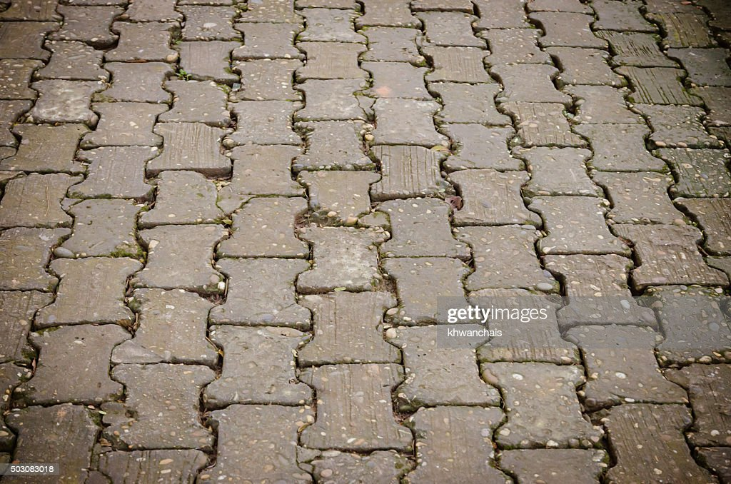 Trama di esposto pavimento di cemento pavimenti in piastrelle foto