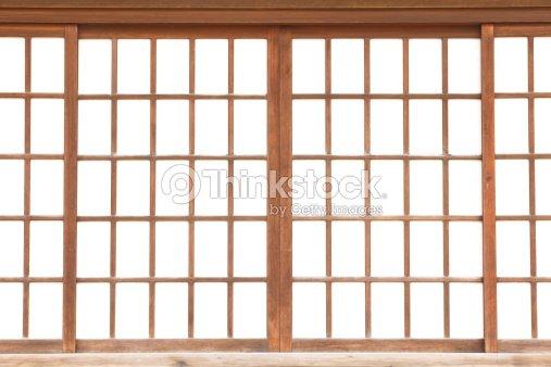 Texture De Papier Japonais Porte Coulissante Shoji Photo