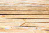 Background of thin boards. Boardwalk texture table