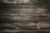 texture of old wooden boards painted in dark color, texture for background.