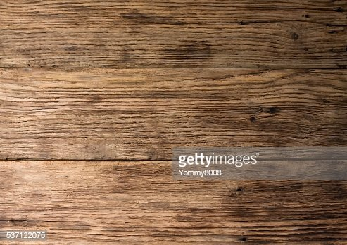 Texture of old worn wooden board : Stock Photo