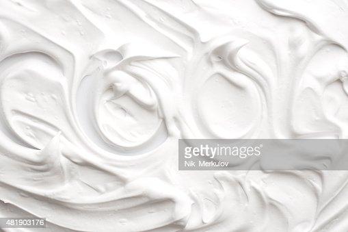 Shaving foam texture
