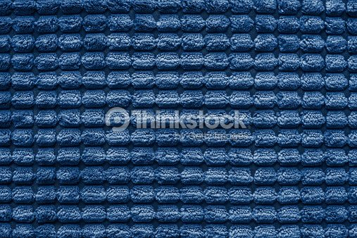 Texture Of Terry Fabric Silvery Blue Color Stock Photo