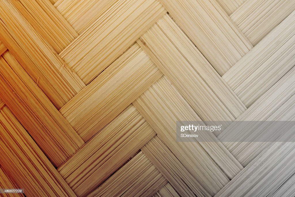 texture of wicker cane baskets : Stock Photo