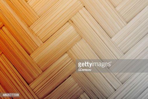 Textur von Korbwaren Schilfkörbe : Stock-Foto