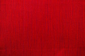 close up red fabric texture, background