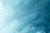 Textured blue winter painting canvas wallpaper background
