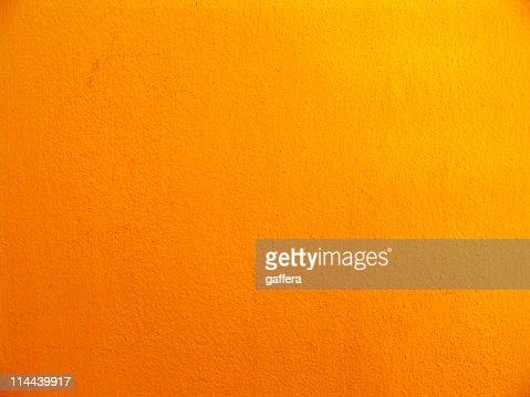 Textured multishaded orange wall