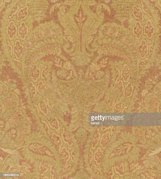 Strukturierte Papier mit alten ornament