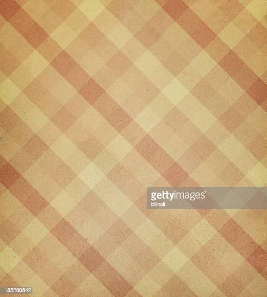 Texture du papier avec motif à carreaux