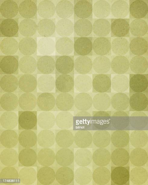 textured paper with green dot pattern