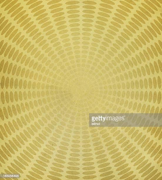 Texture du papier avec motif ovale