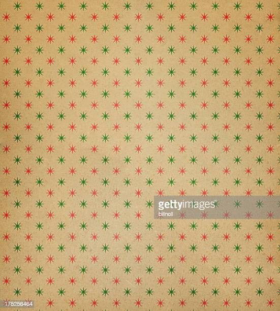 textured paper with star pattern