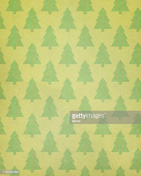 textured paper with tree pattern