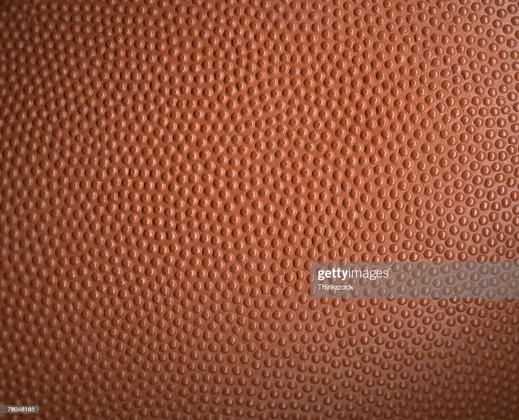 Textured surface of ball