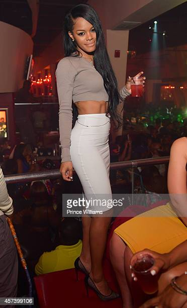 Teyana Taylor attends Hip Hop Awards Grande Finale Hosted by Jeezy Future at Velvet Room on September 21 2014 in Chamblee Georgia