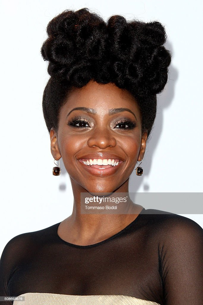 Teyonah Parris attends the 47th NAACP Image Awards held at Pasadena Civic Auditorium on February 5 2016 in Pasadena California