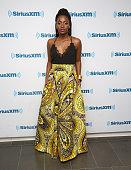 Teyonah Parris visits at SiriusXM Studio on June 7 2016 in New York City