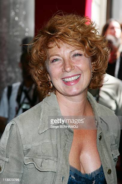 Tf1 Press Conference At The Olympia In Paris France On August 29 2007 Veronique Genest