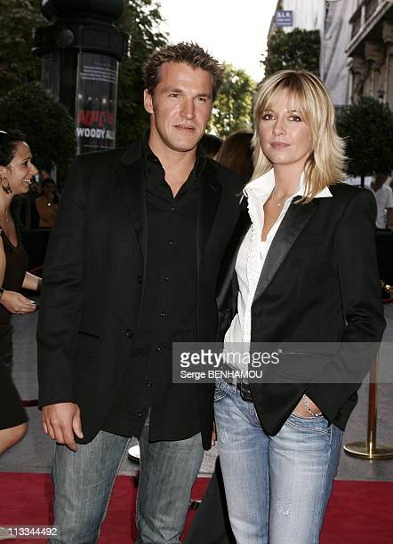 Tf1 Press Conference At The Theatre Des ChampsElysees In Paris On September 5Th 2006 In Paris France Here Benjamin Castaldi And Flavie Flament