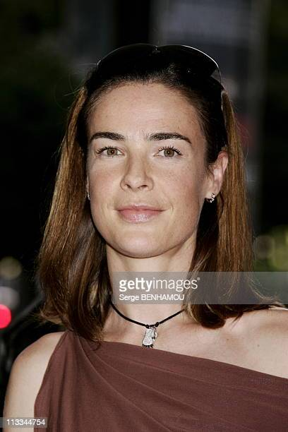 Tf1 Press Conference At The Theatre Des ChampsElysees In Paris On September 5Th 2006 In Paris France Here Benedicte Delmas