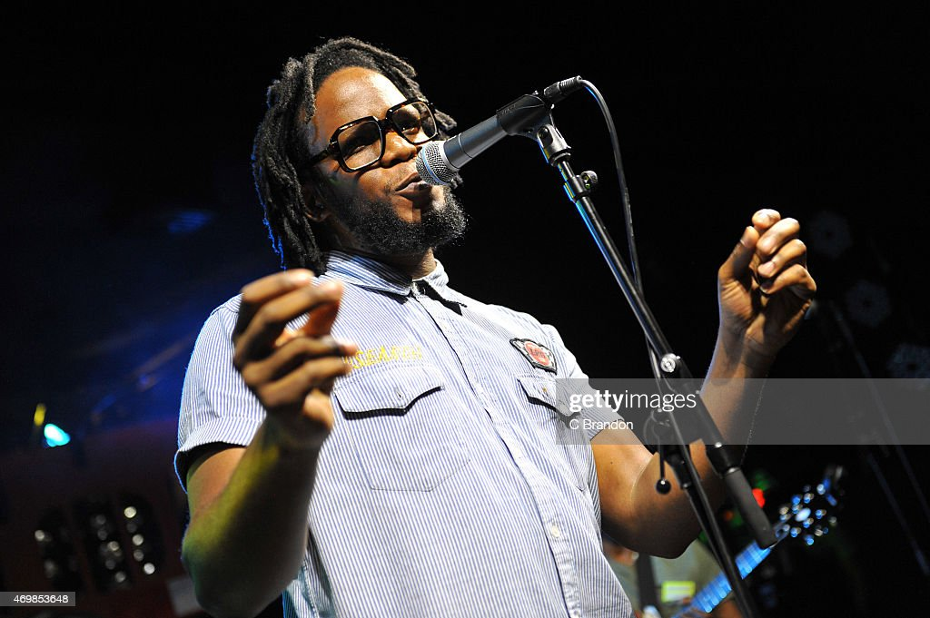 Thabo Mkwananzi of Thabo and the Real Deal performs on stage at Scala on April 14, 2015 in London, United Kingdom.