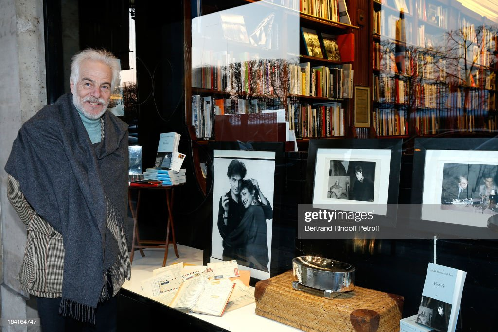 Thadee Klossowski De Rola attends a signing for his book 'Dream Life' (Vie Revee) at Galignani Bookstore in Paris, France on March 20, 2013.