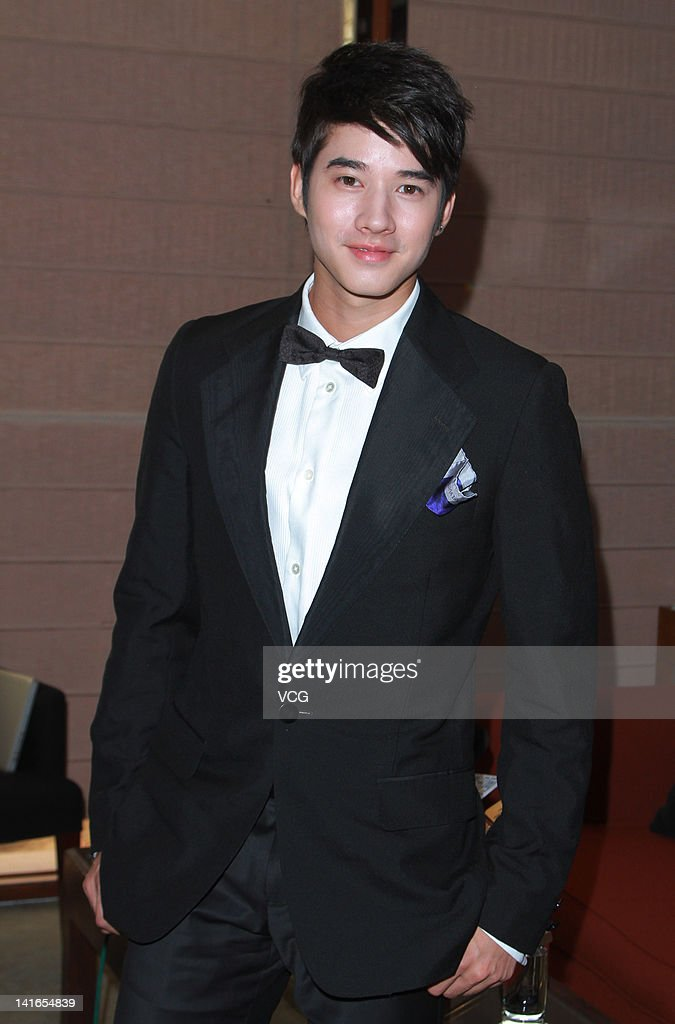 Thai actor Mario Maurer attends a press conference after the 6th Asian Film Awards on March 20, 2012 in Hong Kong, Hong Kong.