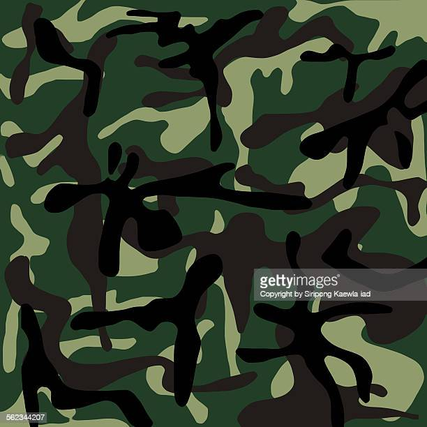 Thai Army camouflage pattern background