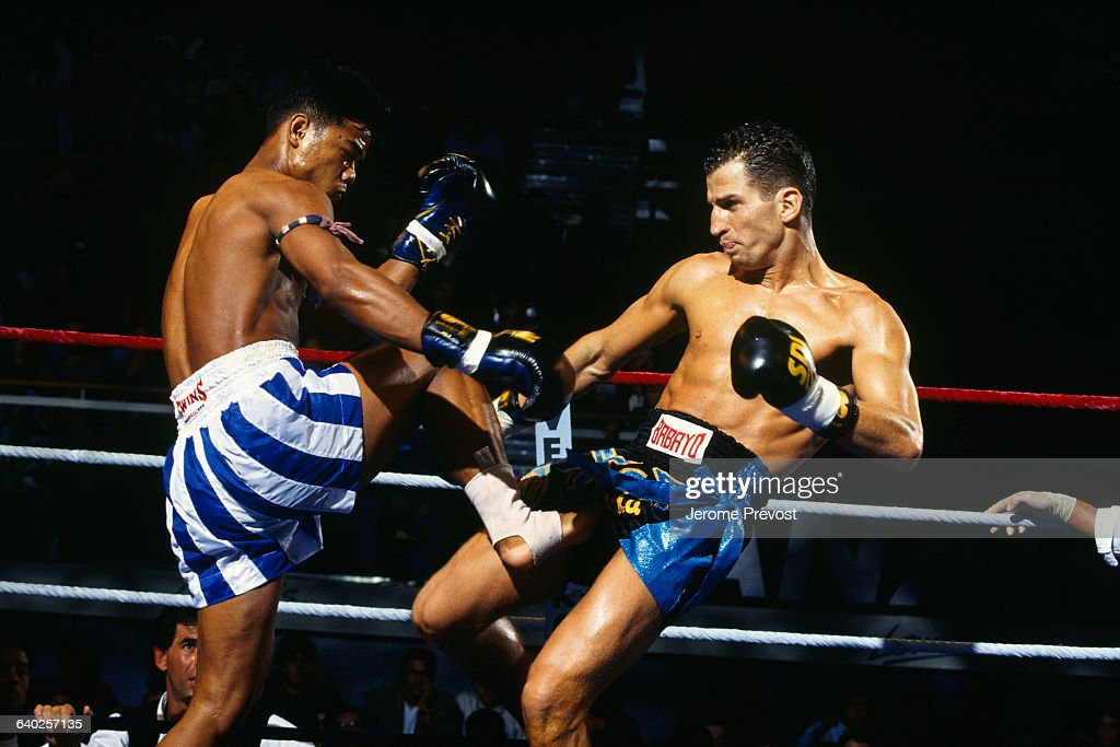 Thai boxers Na Lenton and Dida Diafat